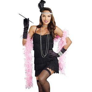 Dreamgirl Women's Flapper Costume Dress Sz 3X/4X